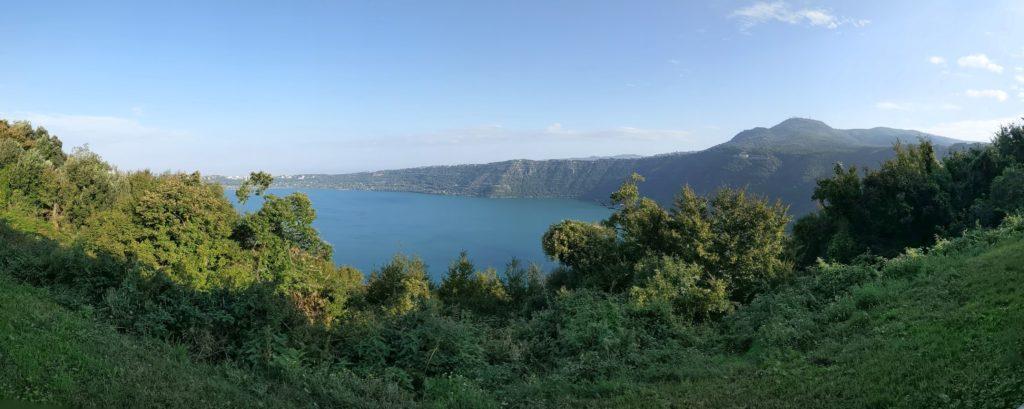 Monte Cavo and Lake Albano